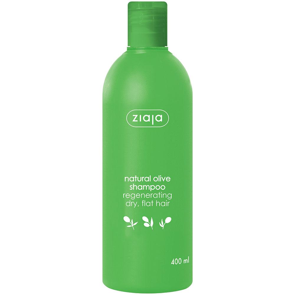 Відновлюючий шампунь оливковий 400 мл