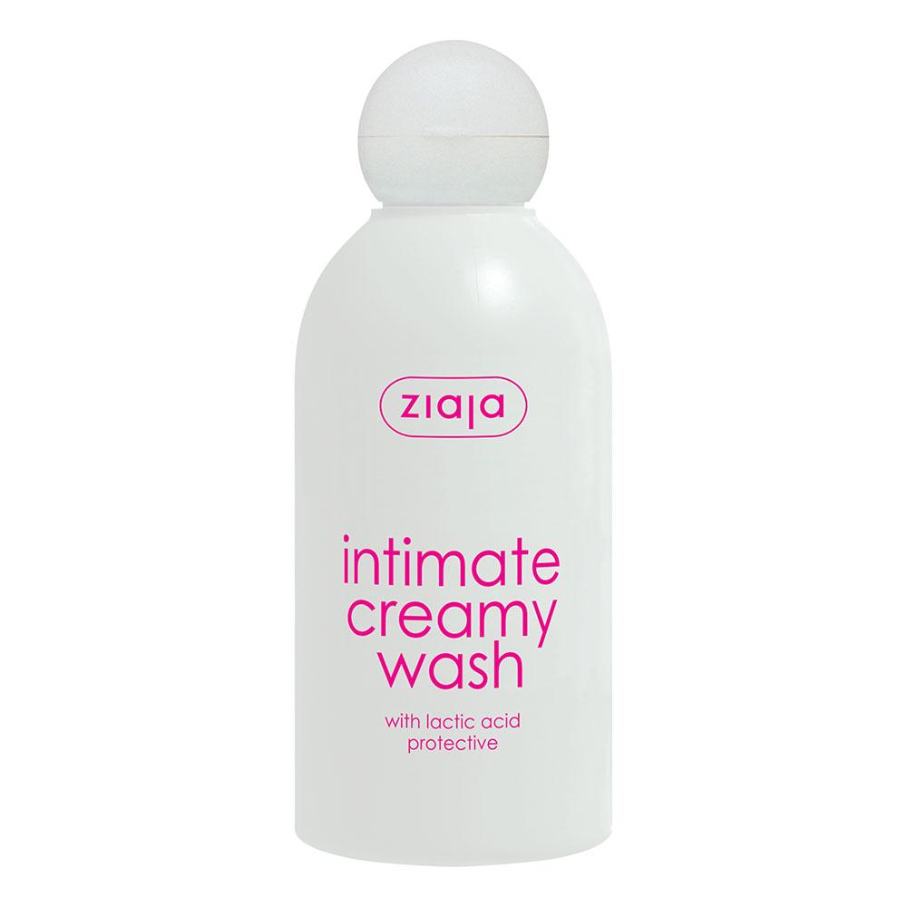 Кремовий засіб для інтимної гігієни з молочною кислотою 200 мл