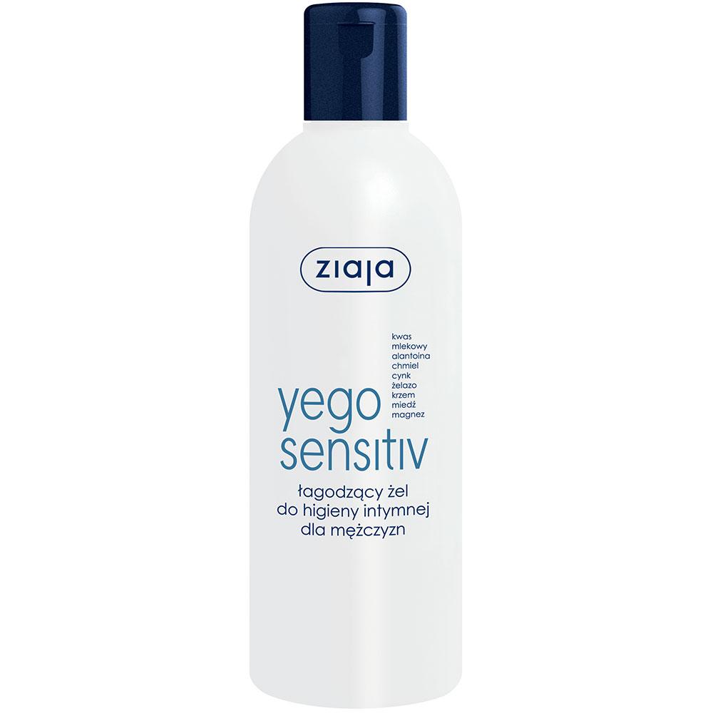 Чоловічий гель для інтимної гігієни Yego Sensitiv 300 мл