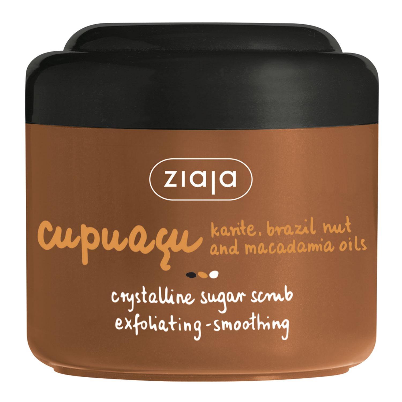 Кристаллический сахарный скраб для душа Купуасу 200 мл
