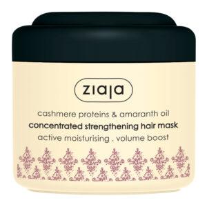 Укрепляющая маска для волос Кашемир и масло амаранта 200 мл