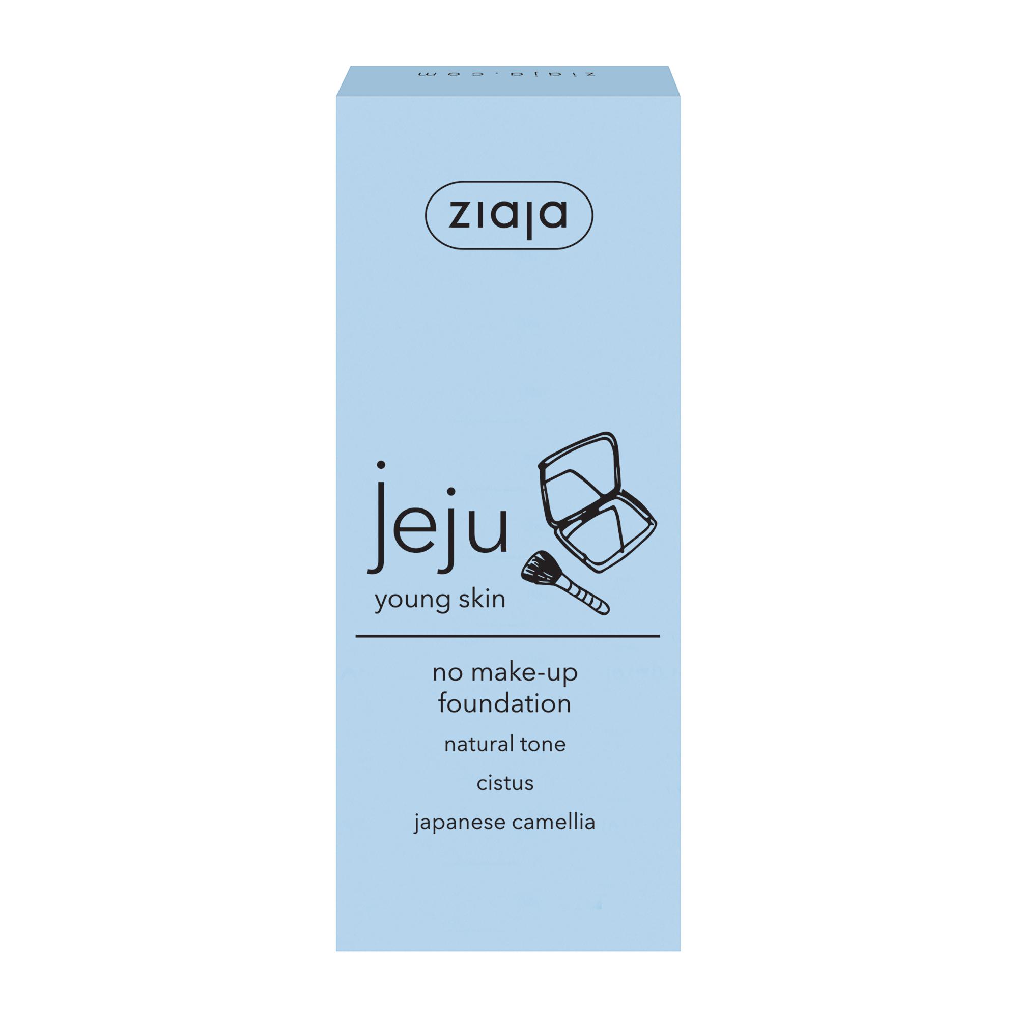 Флюїд-консилер під макіяж (натуральний тон) JEJU 30 мл
