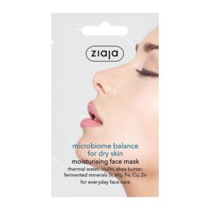 Зволожуюча маска для сухої шкіри «Мікробіомний баланс» 7 мл