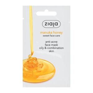 Маска від акне для жирної та комбінованої шкіри з медом мануки 7 мл