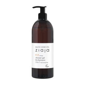 Гель для душа/шампунь для волос, 3 в 1 для лица, тела, волос Baltic Home SPA Fit 500 мл